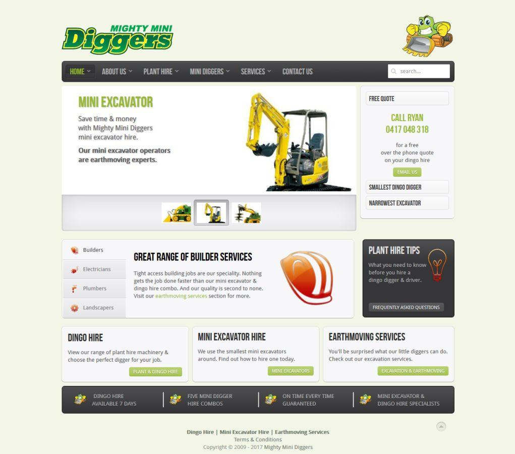 Mighty Mini Diggers