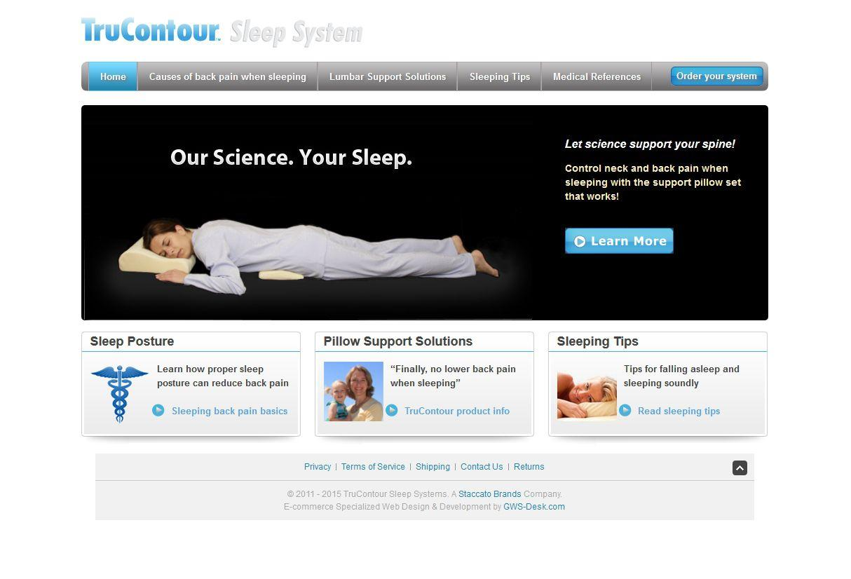 Trucontour Sleeping System